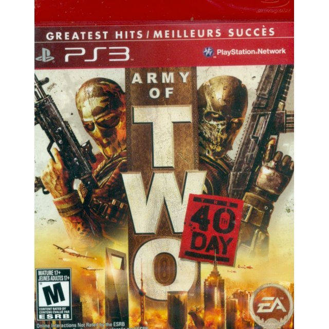 Army of Two: The 40th Day (Greatest Hits)