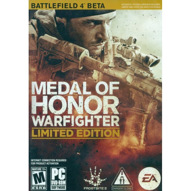 Medal of Honor: Warfighter (Limited Edition) (DVD-ROM)