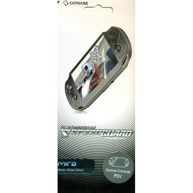 Capdase Mira Professional Screenguard (Silver Glass Mirror) Full Cover PS Vita