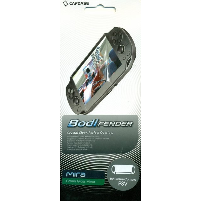Capdase Mira BodiFender (Green Glass Mirror) Back-Side Protector PS Vita