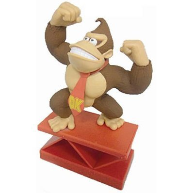 Super Mario Paper Weight Figure: Donkey Kong