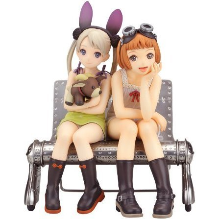 Last Exile  1/8 Scale Pre-Painted PVC Figure: Alvis & Lavie