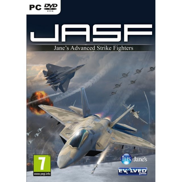 JASF: Janes Advanced Strike Fighters (DVD-ROM)
