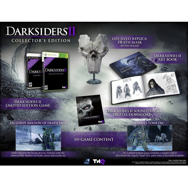 Collectorsedition. Org » darksiders ii collector's edition (360) [ntsc].