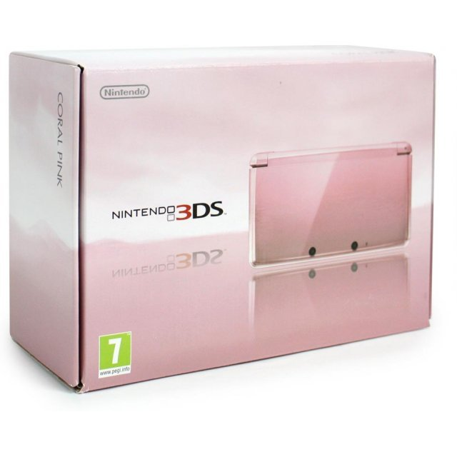 Nintendo 3DS (Coral Pink)