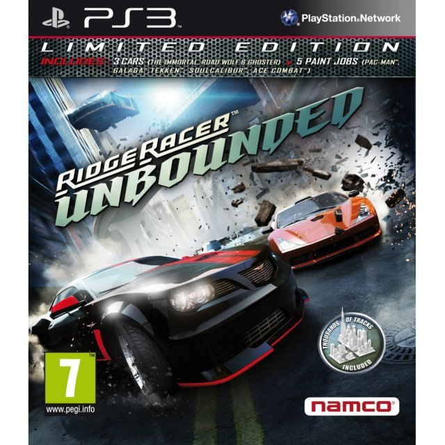 Ridge Racer: Unbounded - Limited Edition