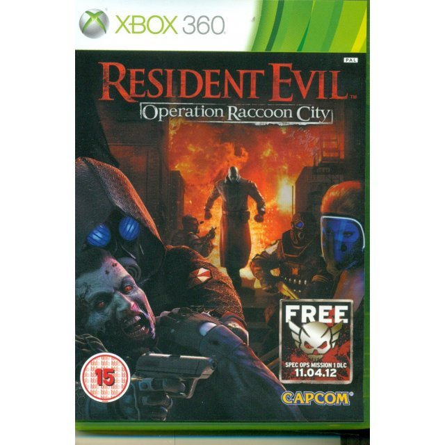Resident Evil: Operation Raccoon City (Game seal is opened)