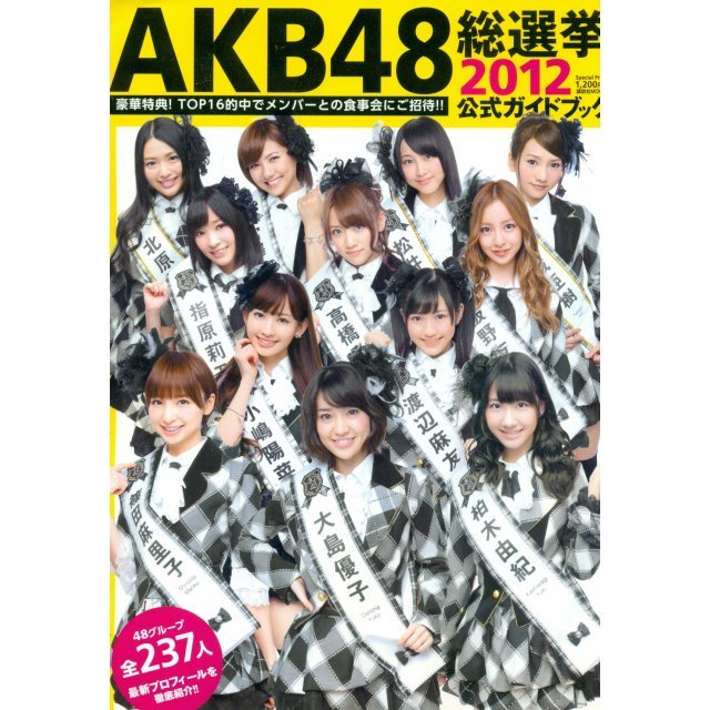 AKB48 General Election Official Guide Book 2012