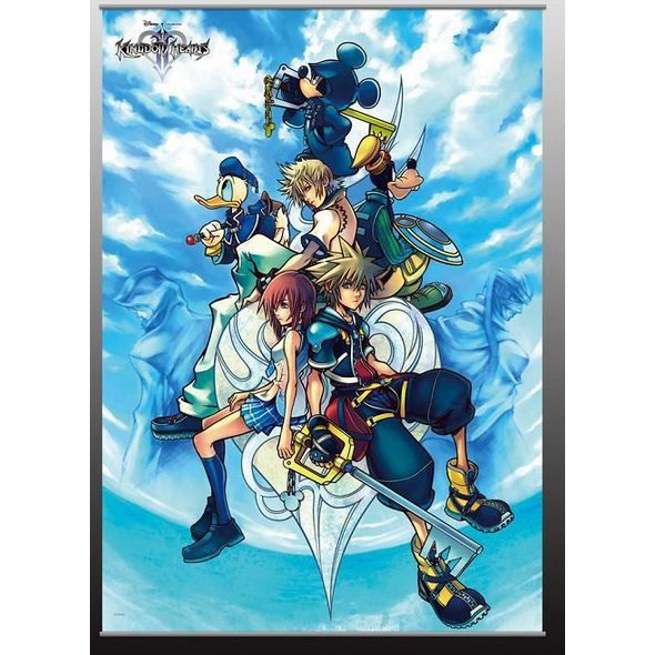 Kingdom Hearts II Wall Scroll