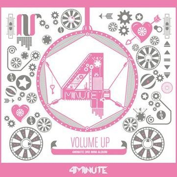 4Minute Mini Album Vol. 3 - Volume Up