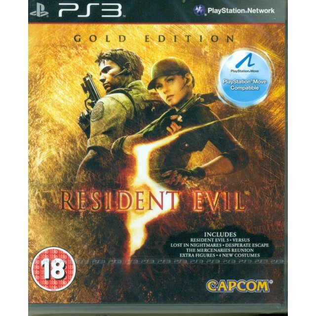 Resident Evil 5: Gold Edition (Move Edition)