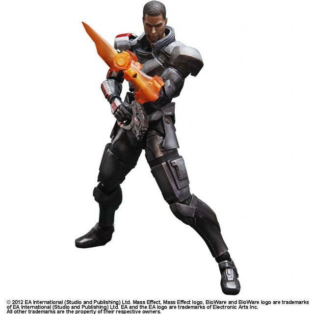 Square Enix Mass Effect Play Arts Kai Pre-Painted Figure: Commander Shepard