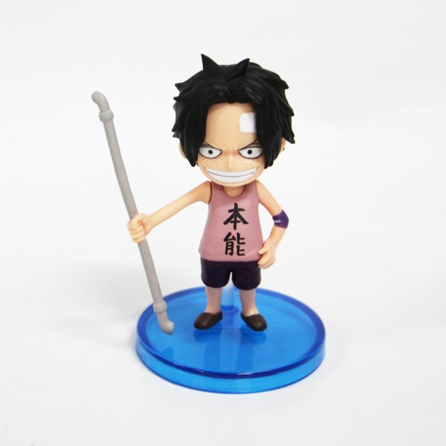 One Piece World Collectable Pre-Painted PVC Figure word : Ace TT05