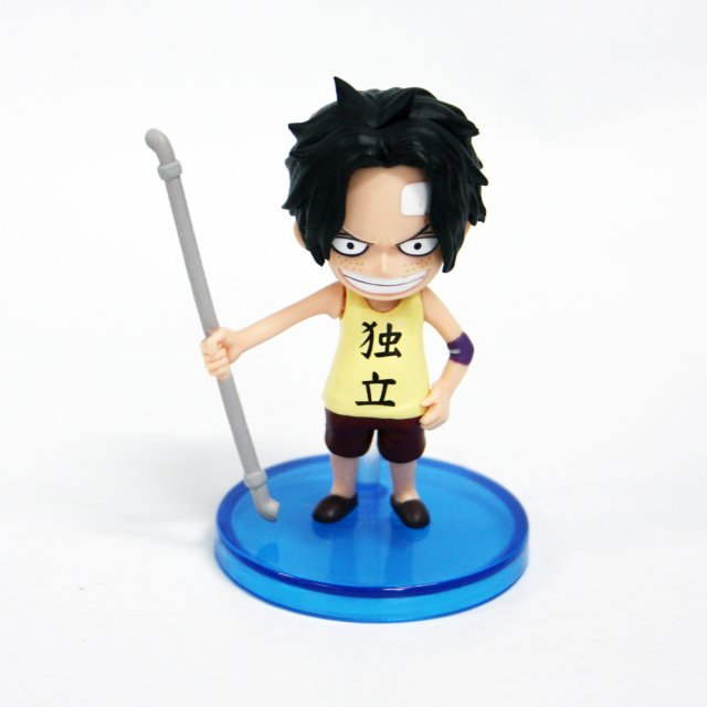 One Piece World Collectable Pre-Painted PVC Figure word : Ace TT06