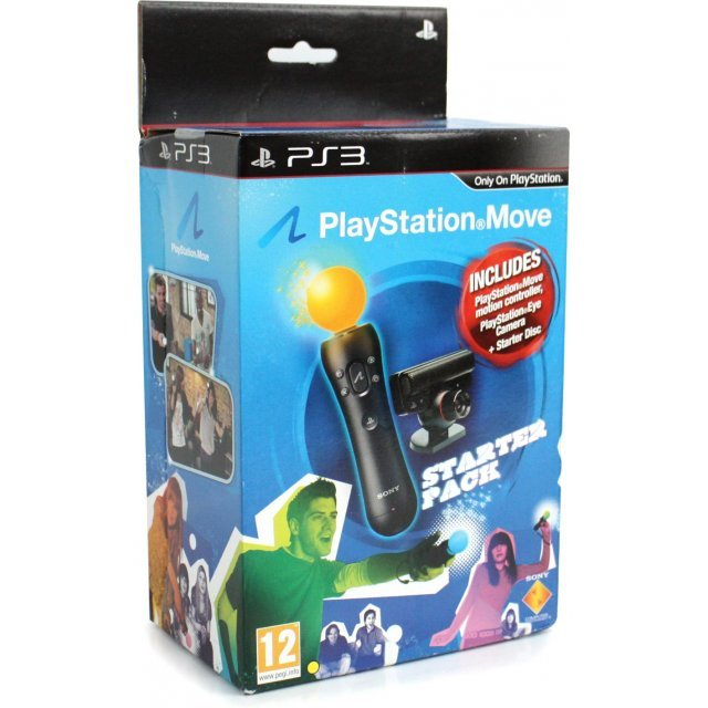 PlayStation Move Starter Pack (Motion Controller Camera with Starter Disc)