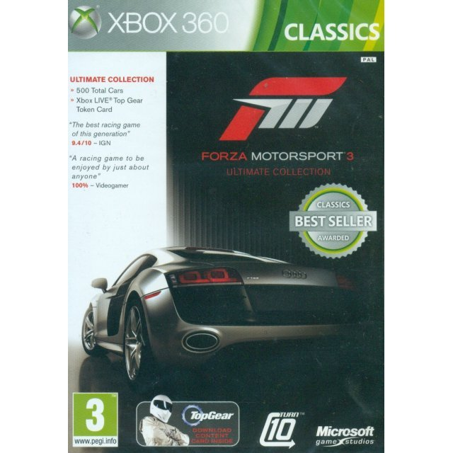 Forza Motorsport 3 (Ultimate Collection) (Classics)