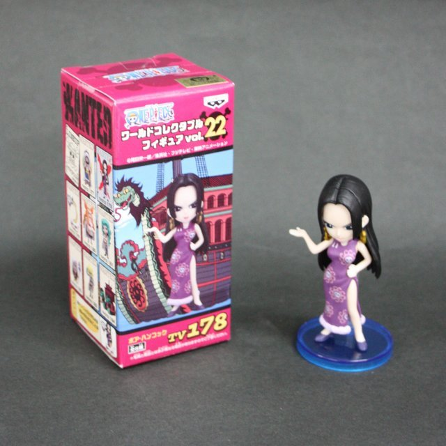 One Piece World Collectable Pre-Painted PVC Figure Vol.22 : TV178 - Boa Hancock