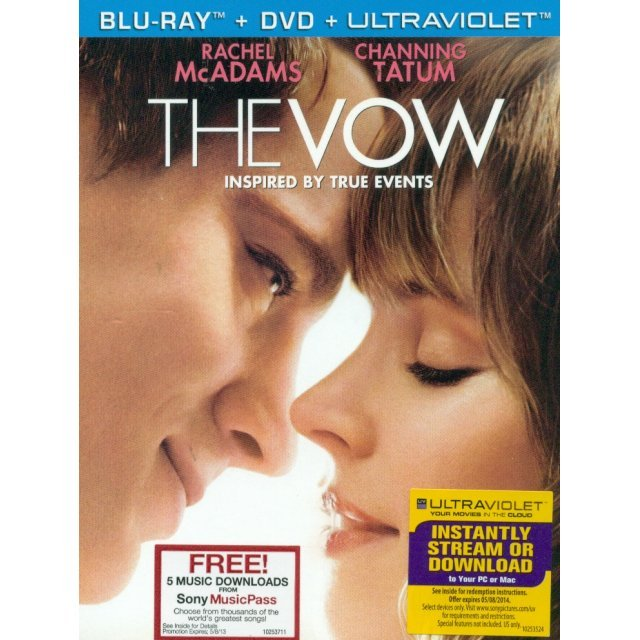 The Vow [Blu-ray + DVD Combo Pack]
