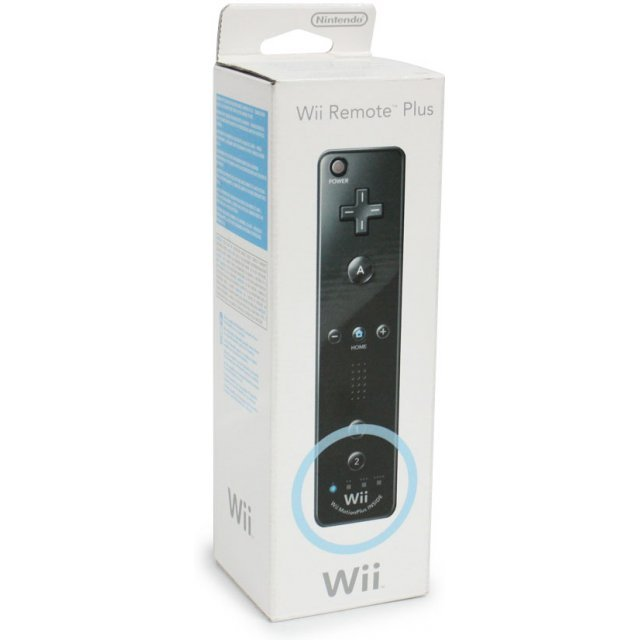 Wii Remote Plus Control (Black)