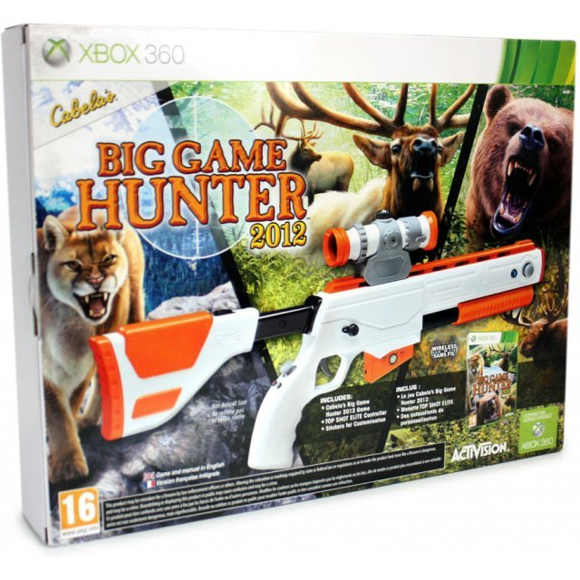 Cabela's Big Game Hunter 12 (w/ Top Shot Elite Bundle)