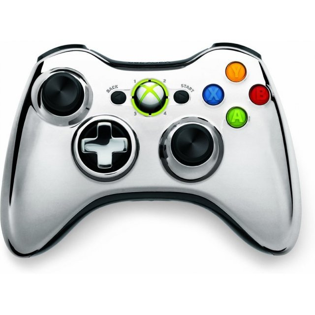 Xbox 360 Wireless Controller SE (Chrome Silver)