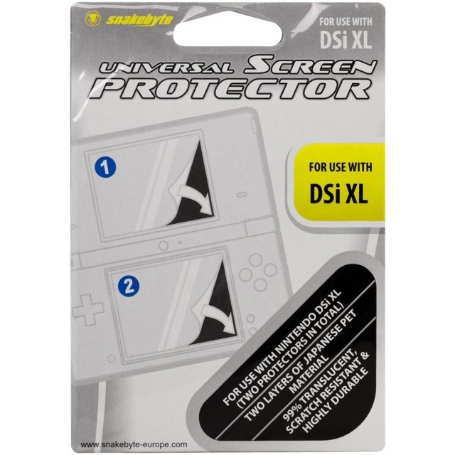 Snakebyte DSi XL Screen Protector