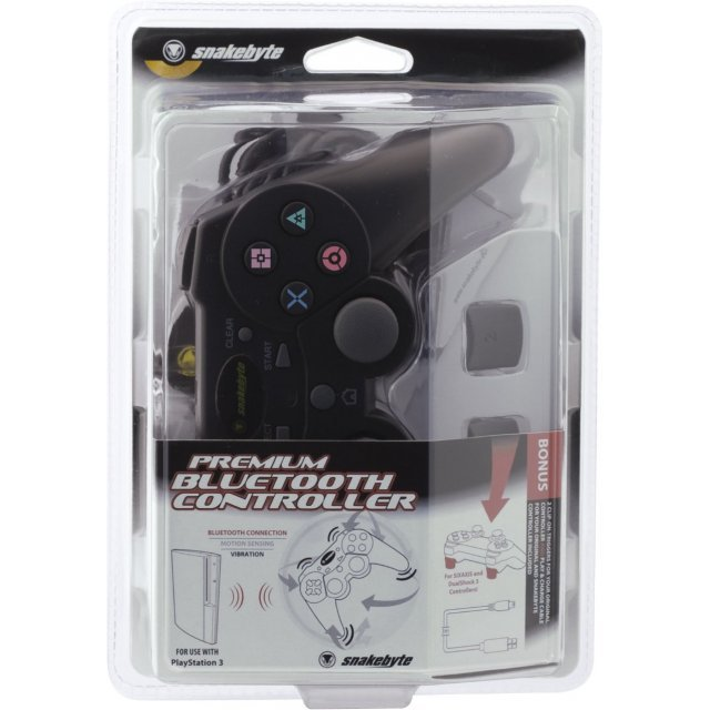 Snakebyte PlayStation 3 Premium Bluetooth Controller