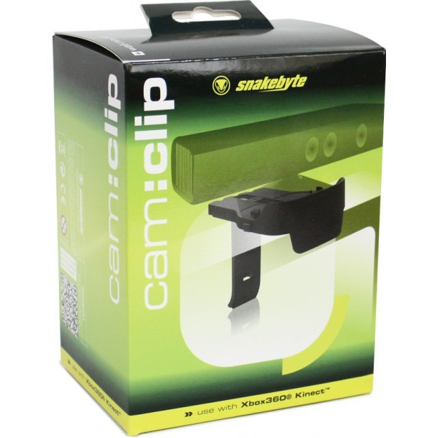 Snakebyte Xbox 360 Cam Clip and Wall Mount for Flat Screen TV