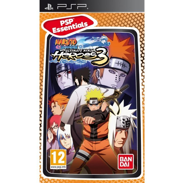 Naruto Shippuden: Ultimate Ninja Heroes 3 (Essentials)