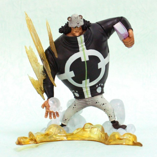 One Piece Super Effect Seven Warlords of The Sea Vol.1 Pre-Painted PVC Figure: Bathlomew Kuma