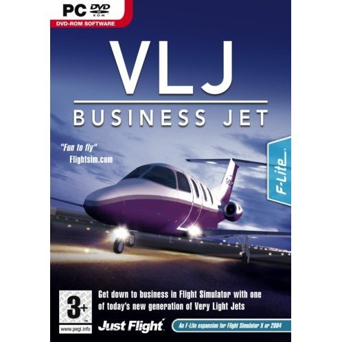 VLJ Business Jet (DVD-ROM)