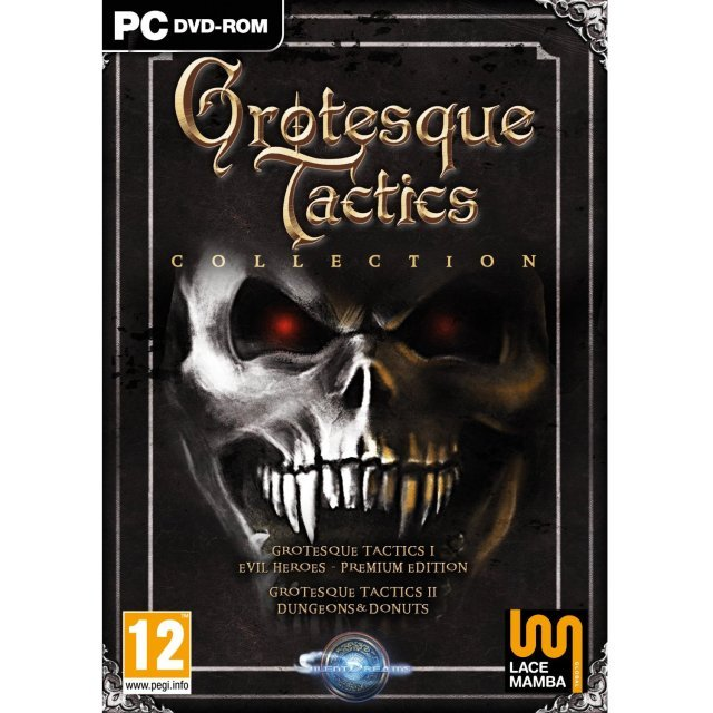 Grotesque tactics collection dvd rom for windows pc