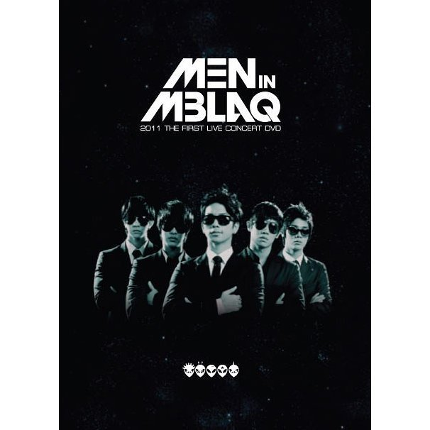 Men In Mblaq 2011 The 1st Live Concert DVD