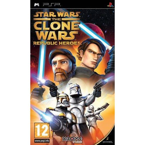 Star Wars the Clone Wars: Republic Heroes (Essentials)
