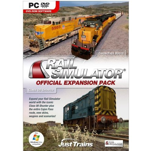 Rail Simulator Official Expansion Pack (DVD-ROM)