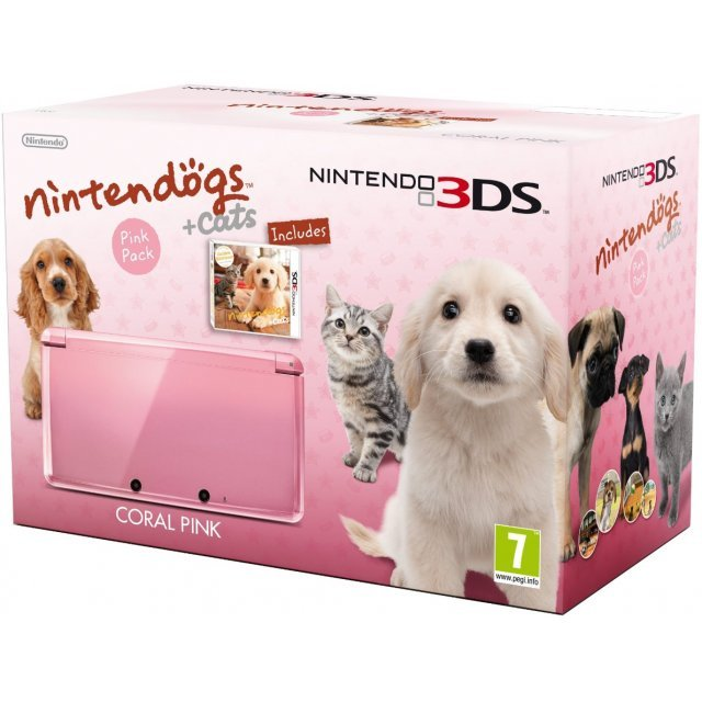 Nintendo 3DS Bundle (Nintendogs + Cats: Golden Retriever & New Friends)