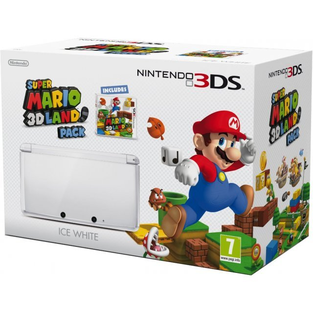 Nintendo 3DS (Super Mario 3D Ice White Edition)