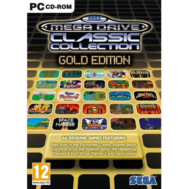 Sega Mega Drive Classic Collection: Gold Edition (DVD-ROM)