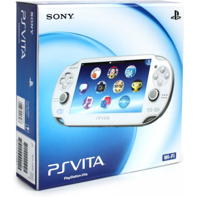 PSVita PlayStation Vita - Wi-Fi Model [Crystal White]