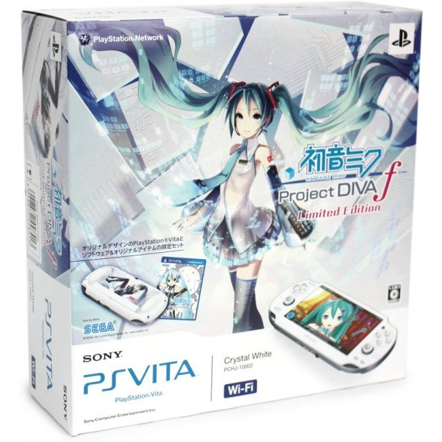 PSVita PlayStation Vita - Wi-Fi Model [Hatsune Miku Limited Edition]