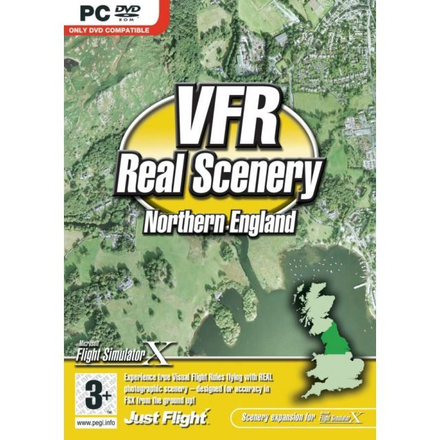 VFR Real Scenery Volume 4: Northern England (DVD-ROM)