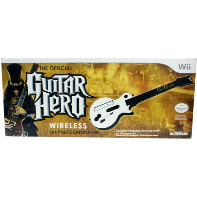 Guitar Hero Les Paul Wireless Guitar Controller