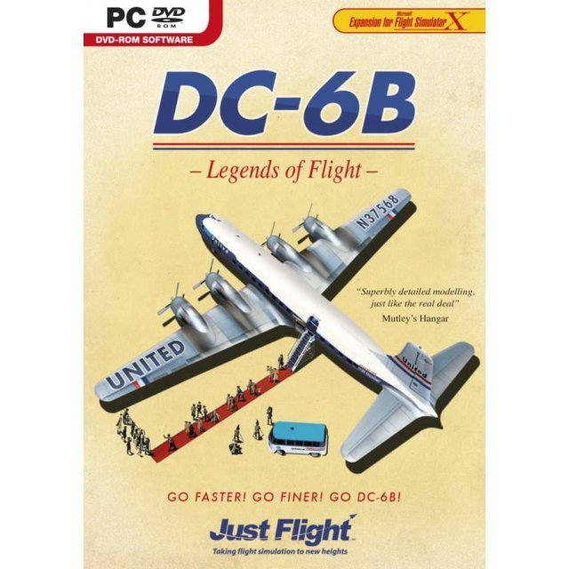 DC-6B Legends of Flight (DVD-ROM)