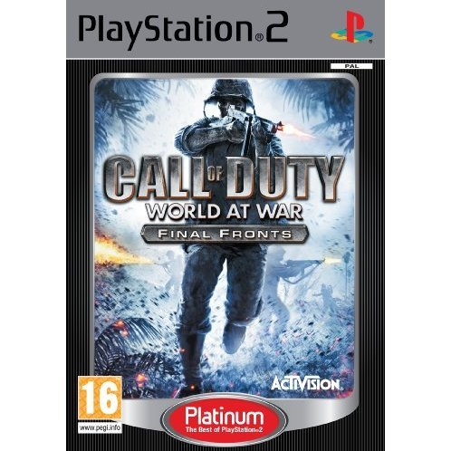 Call of Duty: World at War - Final Fronts (Platinum)