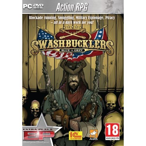 Swashbucklers: Blue vs. Grey (Extra Play) (DVD-ROM)