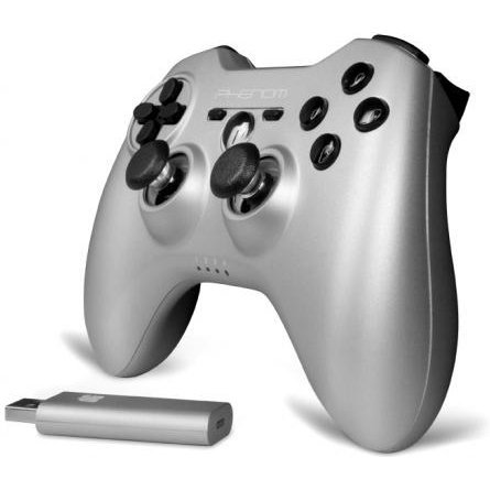 DreamGear Phenom Wireless Controller (Silver)