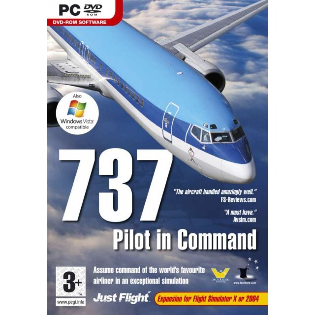 737 Pilot In Command (DVD-ROM)