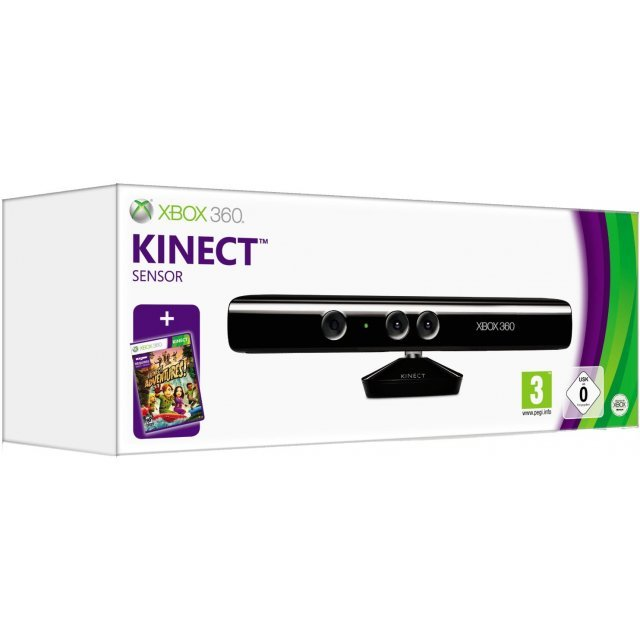Kinect (incl. Kinect Adventures with UK Plug)