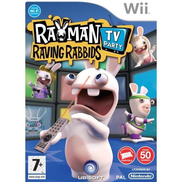 Rayman Raving Rabbids: TV Party (For Balance Board)