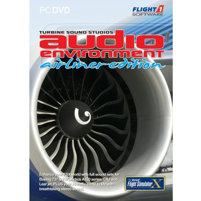 Audio Environment - Airliner Edition (DVD-ROM)